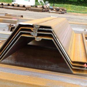 Z Hot Rolled Steel Sheet Pile
